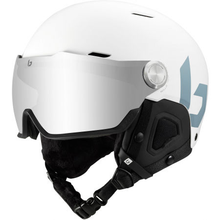 Lyžařská helma se štítem - Bolle MIGHT VISOR (52 - 55) CM