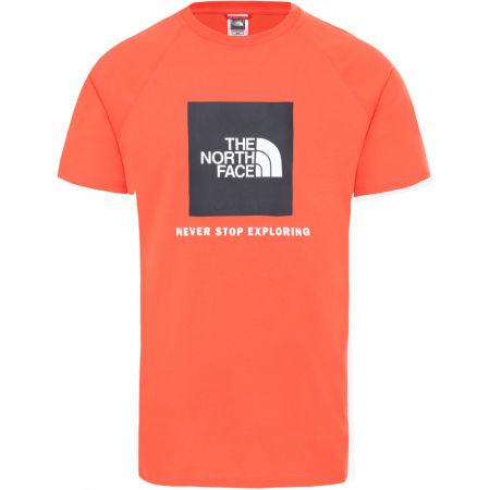 The North Face RAG RED BOX TE - Raglánové pánské triko