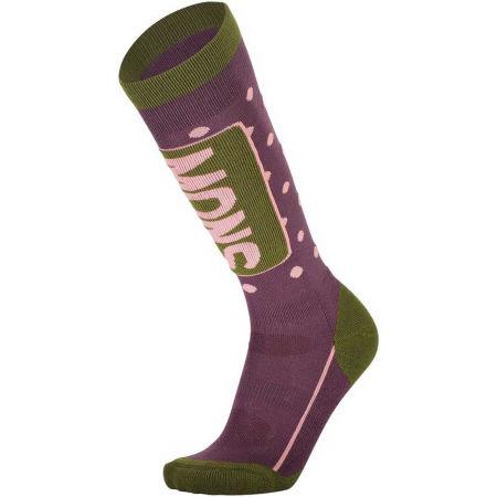 Dámské lyžařské ponožky z merino vlny - MONS ROYALE MONS TECH CUSHION W - 1