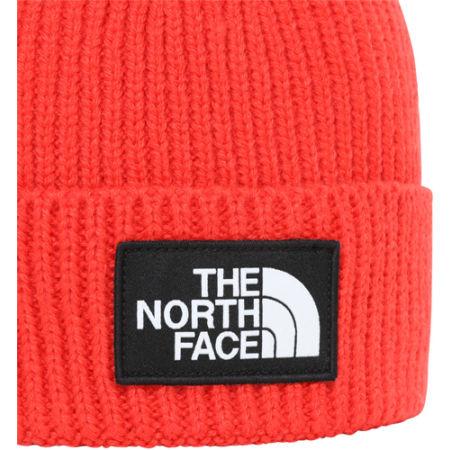 Čepice - The North Face TNF LOGO BOX CUFFED BEANIE - 2