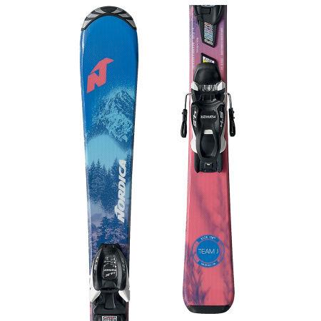 Nordica TEAM J FDT+JR 7.0FDT - Dívčí sjezdové lyže