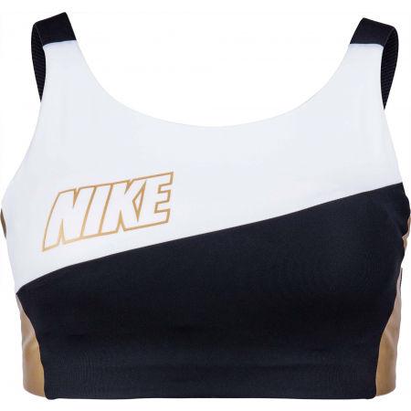 Nike SWOOSH MTLC LOGO BRA PAD - Dámská sportovní podprsenka