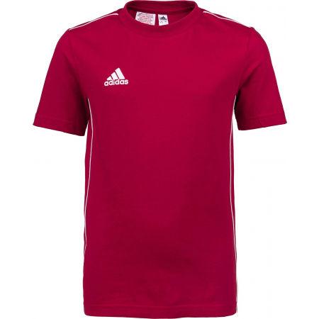 adidas CORE 18 TEE Y - Dětské tričko