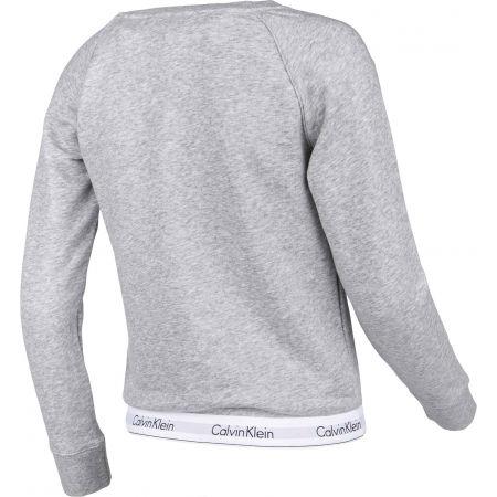 Dámská mikina - Calvin Klein TOP SWEATSHIRT LONG SLEEVE - 3