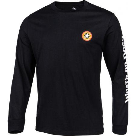 Pánské tričko - Converse BUGS BUNNY X CONVERSE FASHION L/S TEE - 2