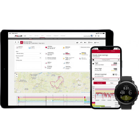 Multisportovní hodinky s GPS a záznamem tepové frekvence - POLAR GRIT X - 12