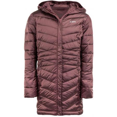 ALPINE PRO EASO 3 - Dětský prošívaný kabát