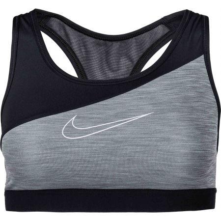 Nike SWOOSH BAND MTLC LOGO BRA - Dámská sportovní podprsenka