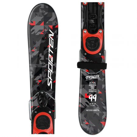 Sporten STRINGER SET + UNI - Sjezdové twintip lyže