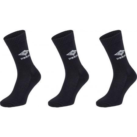 Umbro SPORTS SOCKS - 3 PACK - Ponožky