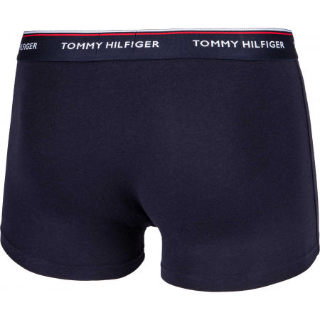 Pánské boxerky - Tommy Hilfiger 3P WB TRUNK - 4