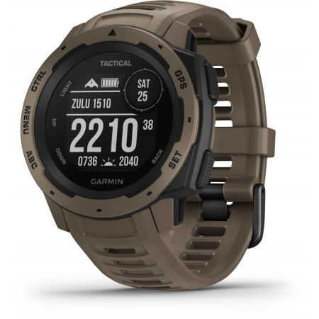 Garmin INSTINCT TACTICAL COYOTE TAN OPTIC - Multisportovní hodinky