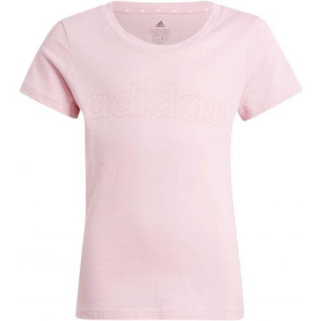 adidas LIN TEE - Dívčí tričko