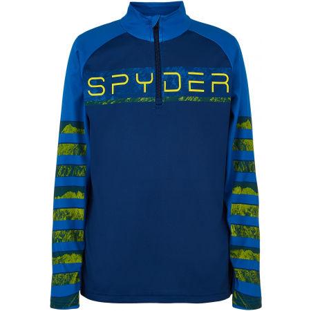 Spyder BOYS PEAK ZIP T-NECK