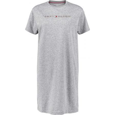 Dámské prodloužené tričko - Tommy Hilfiger RN DRESS HALF SLEEVE - 1