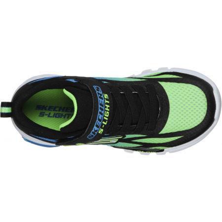 Dětská volnočasová obuv - Skechers FLEX-GLOW DEZLOM - 5