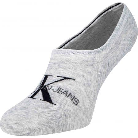 Dámské ponožky - Calvin Klein WOMEN LINER 1P JEANS LOGO BROOKLYN - 1