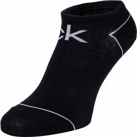 Dámské ponožky - Calvin Klein WOMEN LINER 2P REPEAT LOGO CALLIE - 2