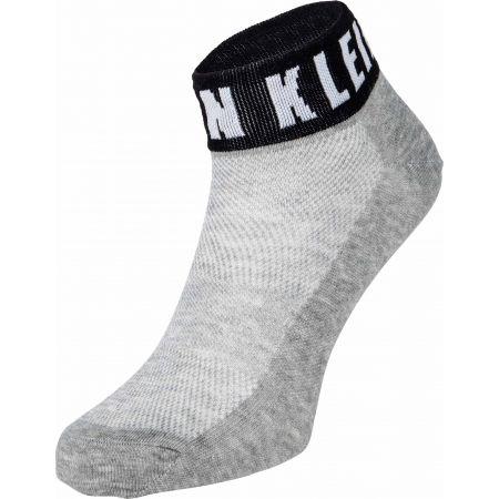 Calvin Klein WOMEN QUARTER 1P MODERN LOGO KAYLA - Dámské ponožky