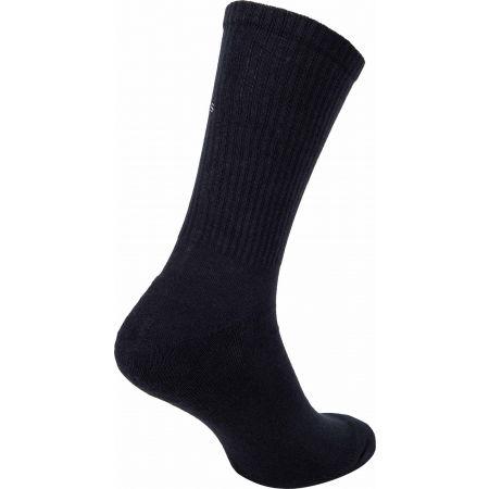 Pánské ponožky - Calvin Klein MEN CREW 1P CK JEANS RIB DESMOND - 2