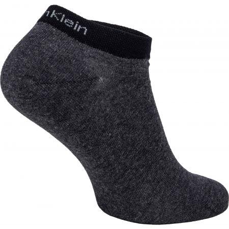 Pánské ponožky - Calvin Klein MEN LINER 2P ALL OVER CK LOGO EDUARDO - 3