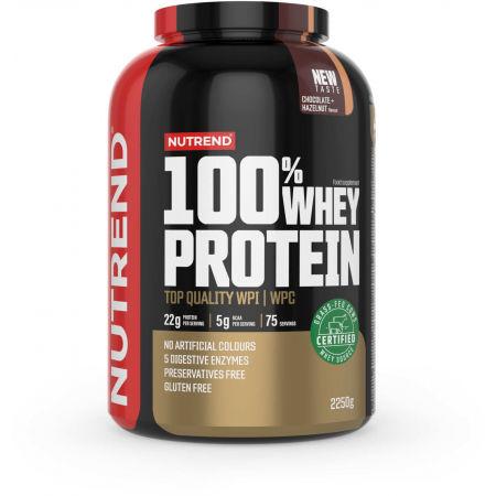 Protein - Nutrend 100% WHEY PROTEIN 2250 g ČOKOLÁDA-LÍSKOVÝ OŘECH