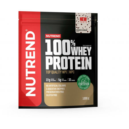 Nutrend 100% WHEY PROTEIN 1000 g COOKIES-CREAM