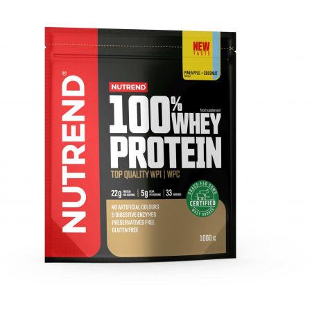 Nutrend 100% WHEY PROTEIN 1000 g ANANAS-KOKOS