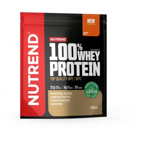 Protein - Nutrend 100% WHEY PROTEIN 1000 g POMERANČ