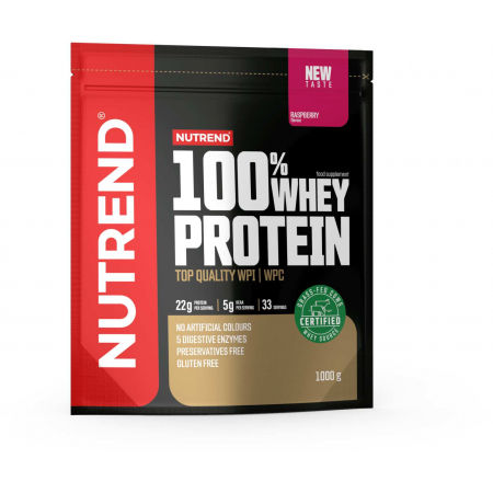 Protein - Nutrend 100% WHEY PROTEIN 1000 g MALINA