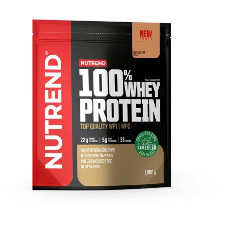 Protein - Nutrend 100% WHEY PROTEIN 1000 g LEDOVÁ KÁVA