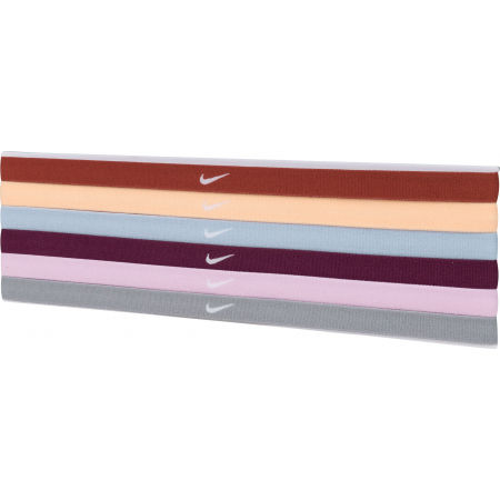 Nike SWOOSH SPORT HEADBANDS 6PK 2.0 - Set čelenek