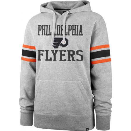 47 NHL PHILADELPHIA FLYERS DOUBLE BLOCK SLEEVE STRIPE HOOD