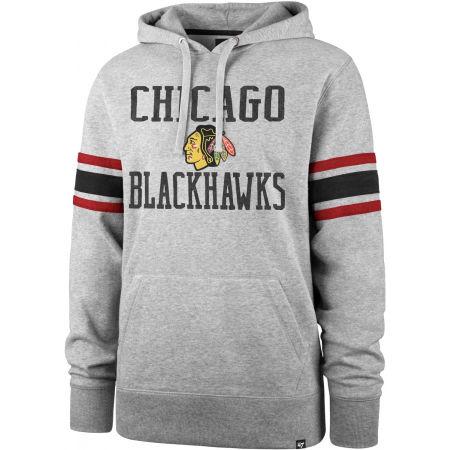 47 NHL CHICAGO BLACKHAWKS DOUBLE BLOCK SLEEVE STRIPE HOOD