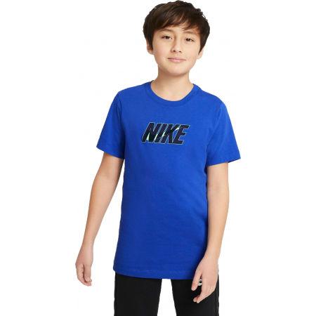 Nike NSW TEE NIKE SWOOSH GLOW B - Chlapecké tričko