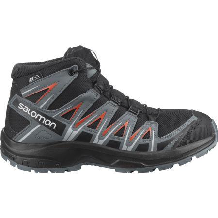 Salomon XA PRO 3D MID CSWP J - Juniorská outdoorová obuv