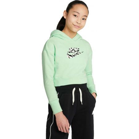 Nike NSW CROP HOODIE FILL - Dívčí mikina