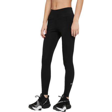 Nike ONE DF MR TGT W - Dámské sportovní legíny