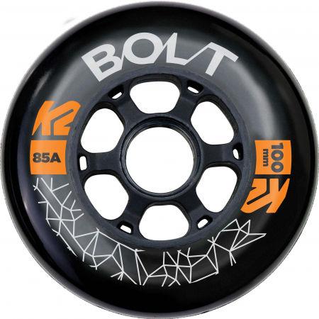 K2 BOLT 100/85A WHEEL 4 PACK BLK - Kolečka k in-line bruslím