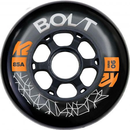 K2 BOLT 90/85A WHEEL 4 PACK BLK
