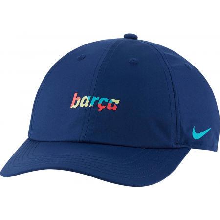 Nike FCB Y NK DRY H86 WDMK BLAUGDI - Chlapecká kšiltovka