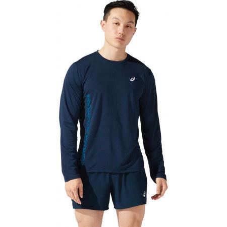 Asics SMSB RUN LS TOP - Pánské běžecké triko