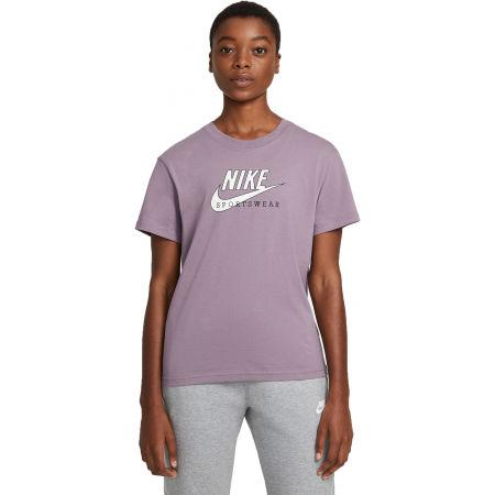 Nike NSW HERITAGE SS TOP HBR W - Dámské tričko