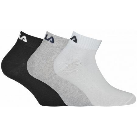 Fila QUARTER PLAIN SOCKS 3P - Ponožky