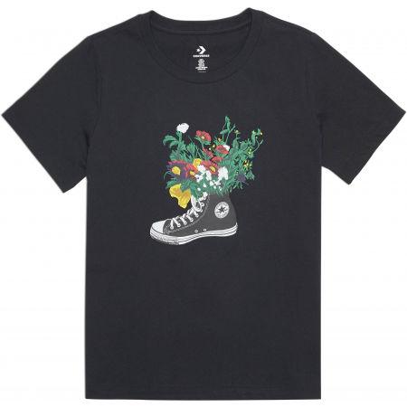 Converse FLOWERS ARE BLOOMING TEE - Dámské tričko