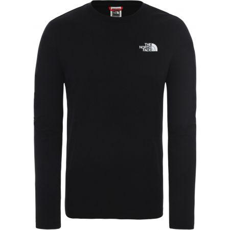 The North Face M L/S RED BOX TEE - EU - Pánské triko s dlouhým rukávem