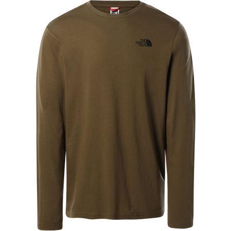 The North Face L/S EASY TEE DEEP M - Pánské tričko