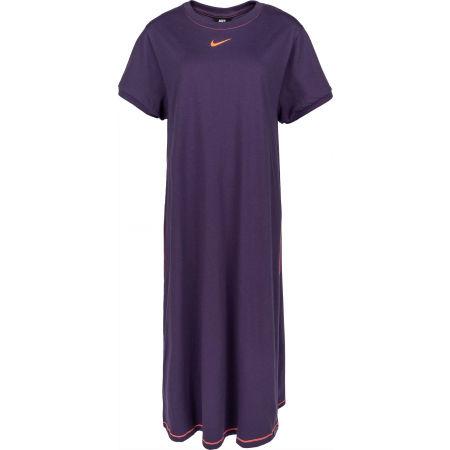 Nike NSW ICN CLSH MAXI DRS PLUS W - Dámské šaty plus size