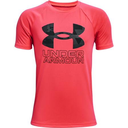 Under Armour TECH HYBRID PRT FILL - Chlapecké triko