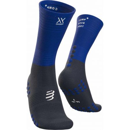 Compressport MID COMPRESSION SOCKS - Běžecké ponožky